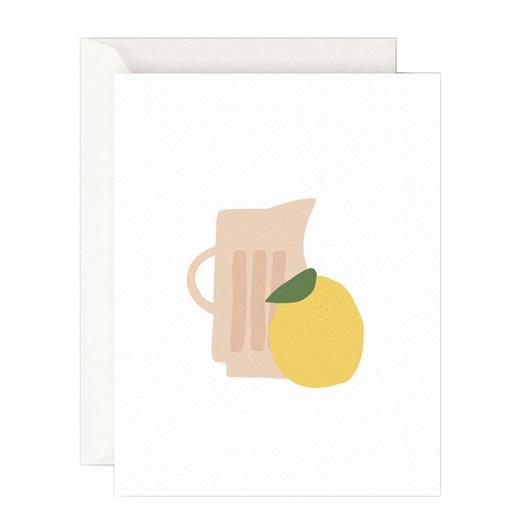 Father Rabbit Stationery Jug With Lemon Card