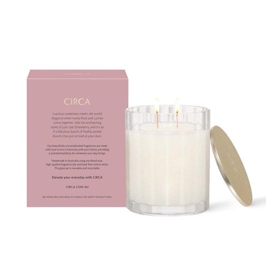 Circa Rose & Lychee Candle 350g