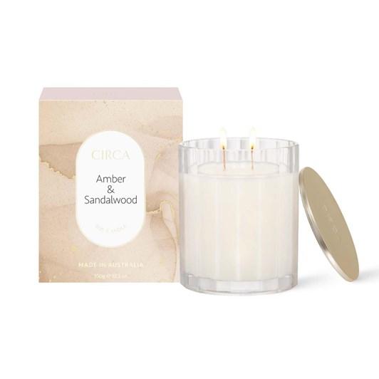 Circa Amber & Sandalwood Candle 60g