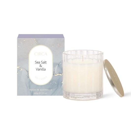 Circa Sea Salt & Vanilla Candle 60g