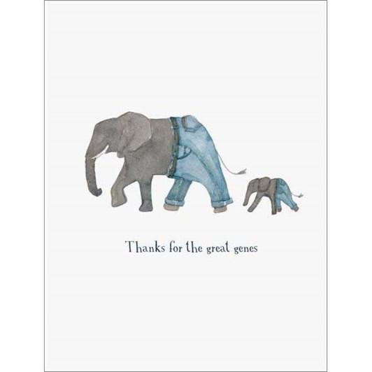 Elephant Genes Card