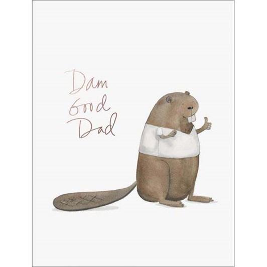 Dam Good Dad Foil Card