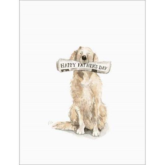 Doggy Dad Card