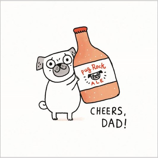 Dad Cheers Card