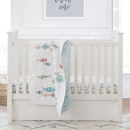 Pottery Barn Kids Kendall Low Profile Cot Simply White Wb