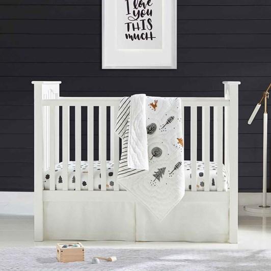 Pottery Barn Kids Kendall Low Profile Guardrail Convers Kit Simply White Wb