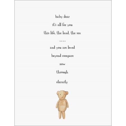 Baby Dear Card