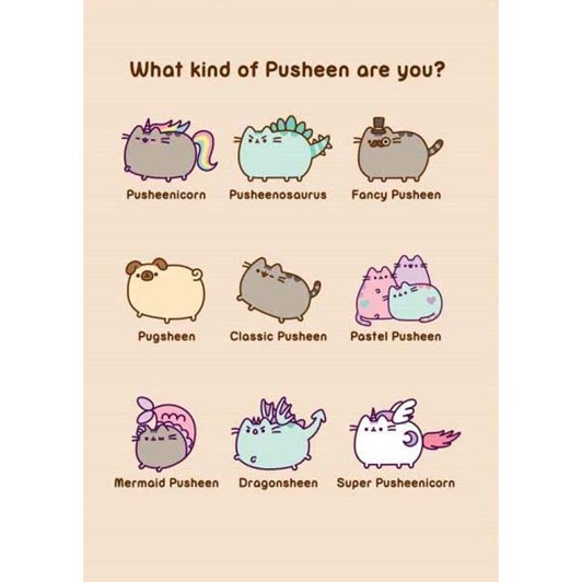 What Kind Of Pusheen Card