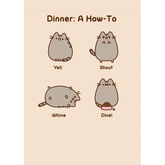 Dinner How To Card