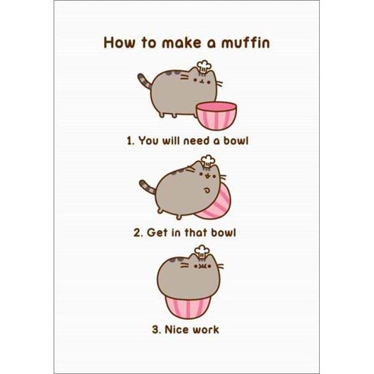 How To Make A Muffin Card