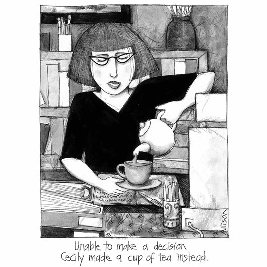 Cecily Cup Of Tea Card