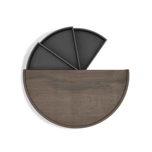 Umbra Moona Storage Box Black/Walnut