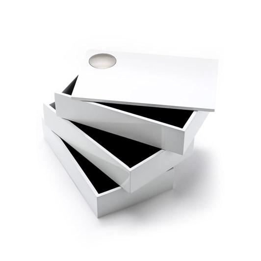 Umbra Spindle Storage Box White