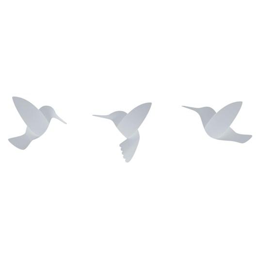 Umbra RD Hummingbird Wall Décor Set 9 White