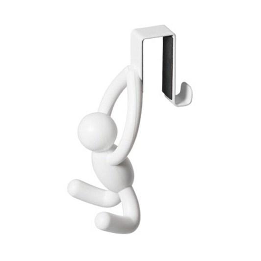 Umbra Buddy OTD Cabinet Hooks Set 2 White