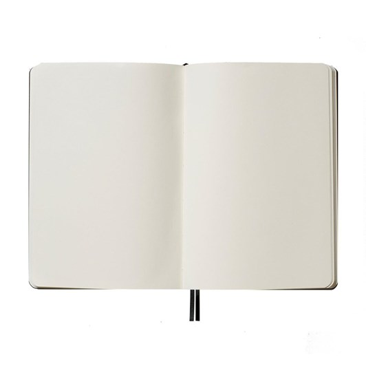 An Organised Life A4 Plain Vegan Leather Notebook