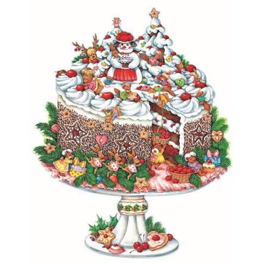 Kirsch Verlag Mobile Black Forest Cake Advent Calendar