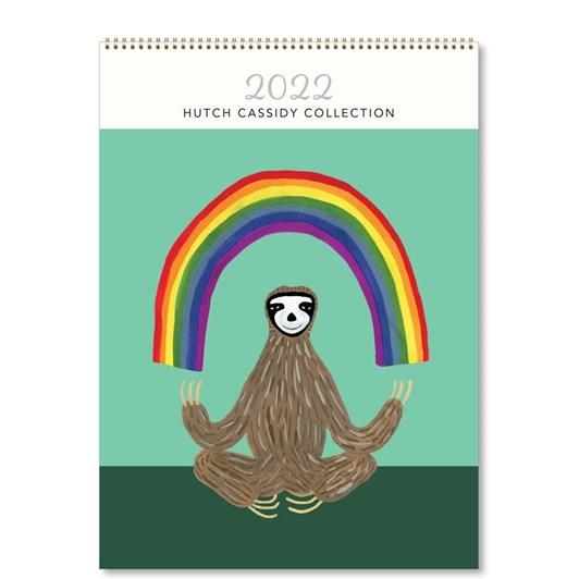 Hello Sunday Hutch Cassidy Medium Calendar
