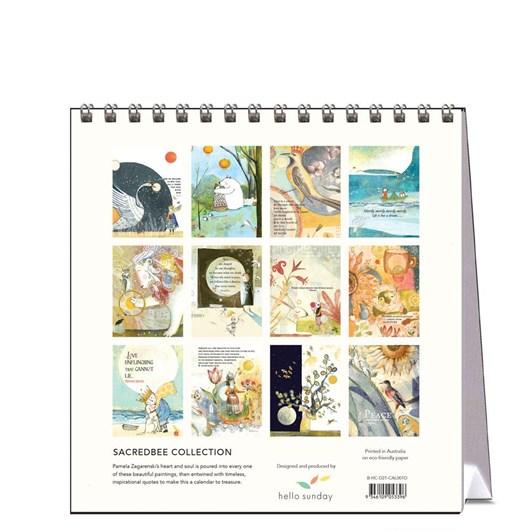 Hello Sunday Sacredbee Desk Calendar