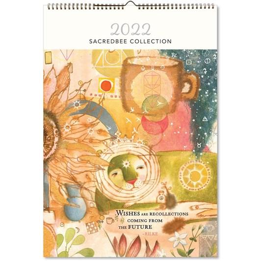 Hello Sunday Sacredbee Large Calendar