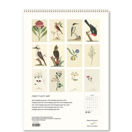 Hello Sunday First Fleet Art Medium Calendar
