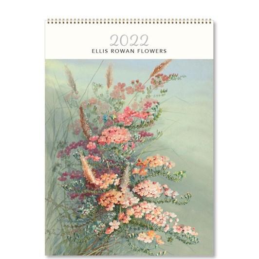 Hello Sunday Ellis Rowan Flowers Medium Calendar