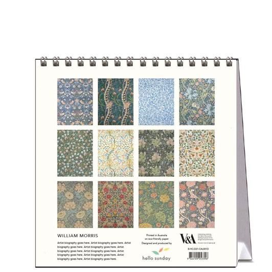 Hello Sunday William Morris Desk Calendar