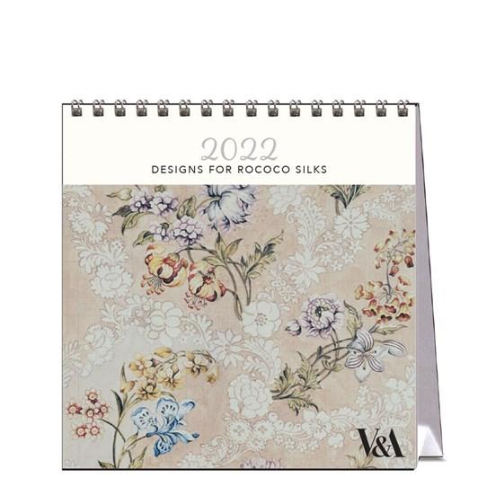 Hello Sunday Designs For Rococo Silks Desk Calendar