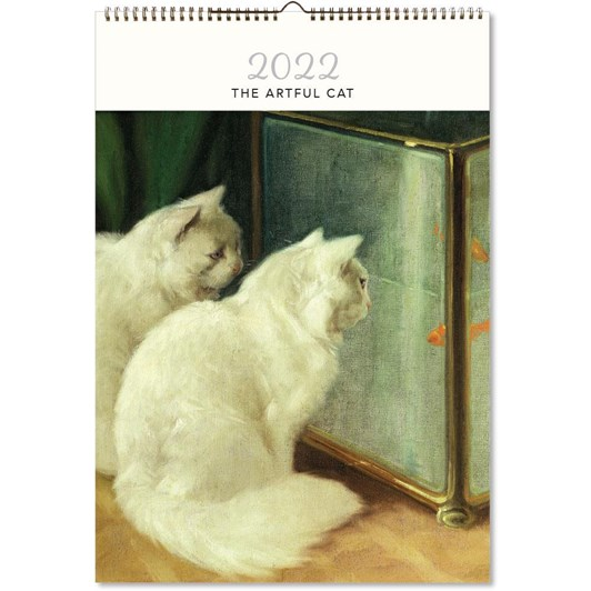 Hello Sunday The Artful Cat Large Calendar