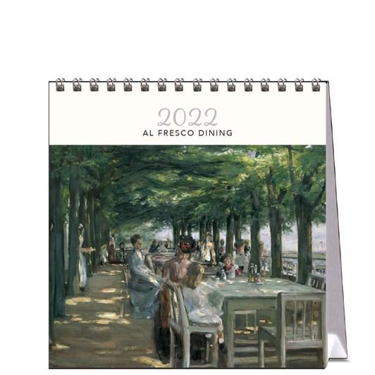 Hello Sunday Al Fresco Dining Desk Calendar