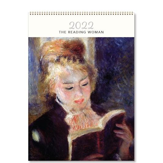 Hello Sunday The Reading Woman Medium Calendar