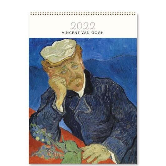 Hello Sunday Vincent Van Gogh Medium Calendar