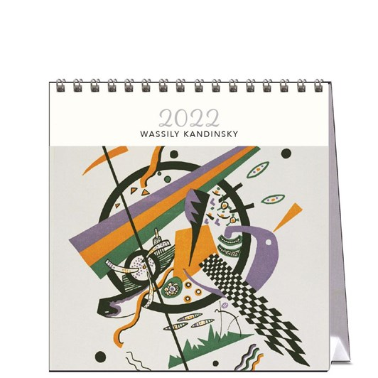 Hello Sunday Wassily Kadinski Desk Calendar