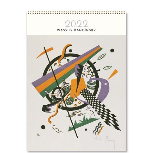 Hello Sunday Wassily Kadinski Medium Calendar