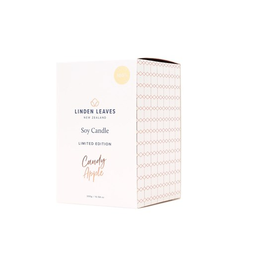 Linden Leaves Limited Edition Candy Apple Soy Candle 300G