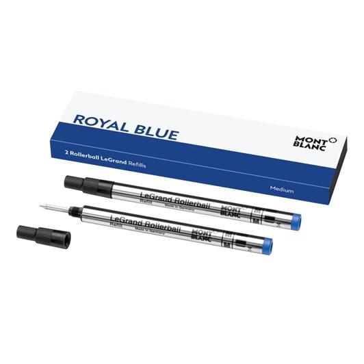 Montblanc - 2 x Rollerball LeGrand Refills (M) Royal Blue