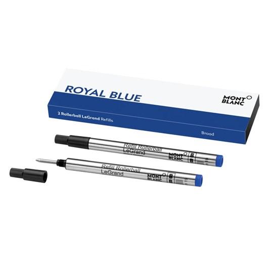 Montblanc - 2 x Rollerball LeGrand Refills (B) Royal Blue