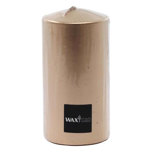 WaxGlo - Flat Top Cylinder Candle 75mmx150mm