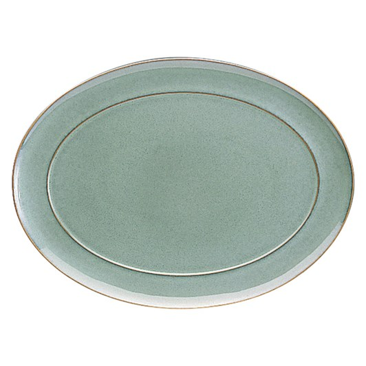 Denby Regency Green Oval Platter 38cm