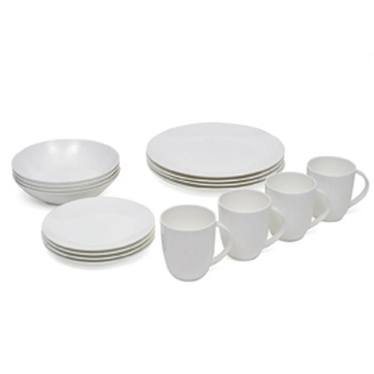 Maxwell & Williams Cashmere Coupe 16 Piece Dinner Set