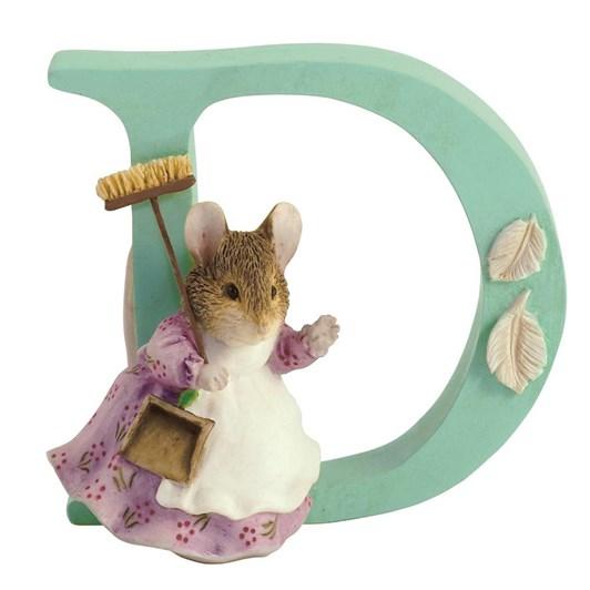 Beatrix Potter Alphabet D - Hunca Munca Sweeping
