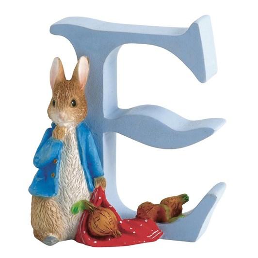 Beatrix Potter Alphabet E - Peter Rabbit with Onions