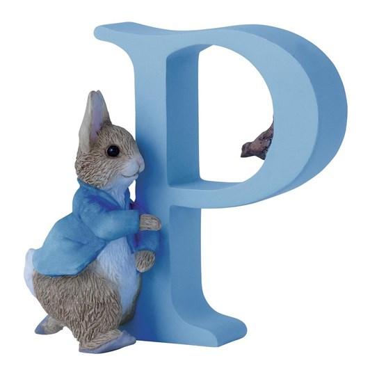 Beatrix Potter Alphabet P - Running Peter Rabbit