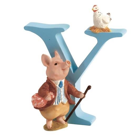 Beatrix Potter Alphabet Y - Pigling Bland