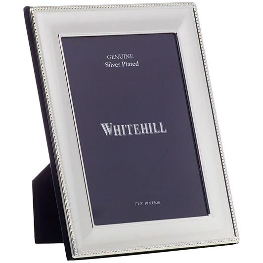 Whitehill Silver Plate Bead Frame 13x18cm