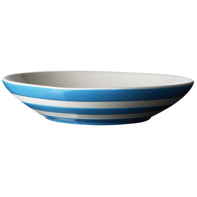 Cornish Blue Pasta Bowl 24cm - na