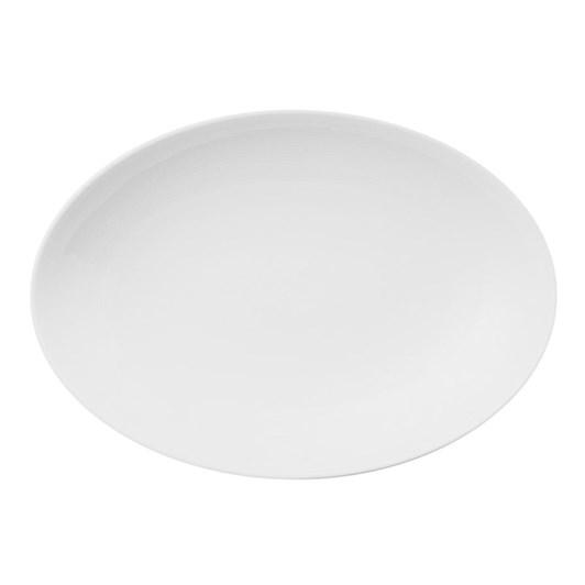 Thomas Loft White Oval Platter 27cm