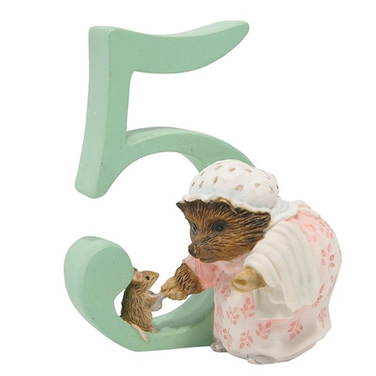 Beatrix Potter Numbers 5 - Mrs Tiggy Winkle
