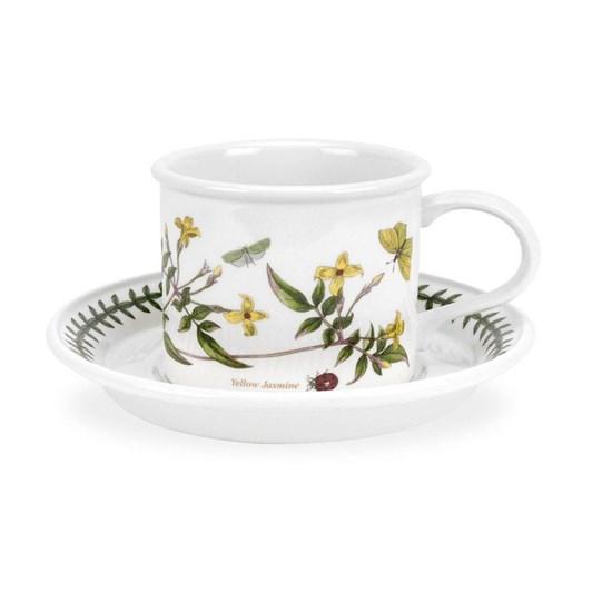 Portmeirion Botanic Garden Mocha Coffee Cup & Saucer