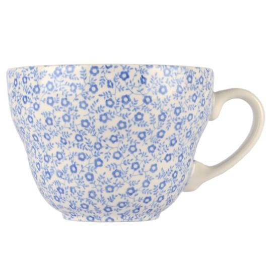 Burleigh Blue Felicity Tea Cup